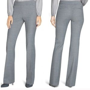 NWT White House Black Market Wool Flare Pants 00R